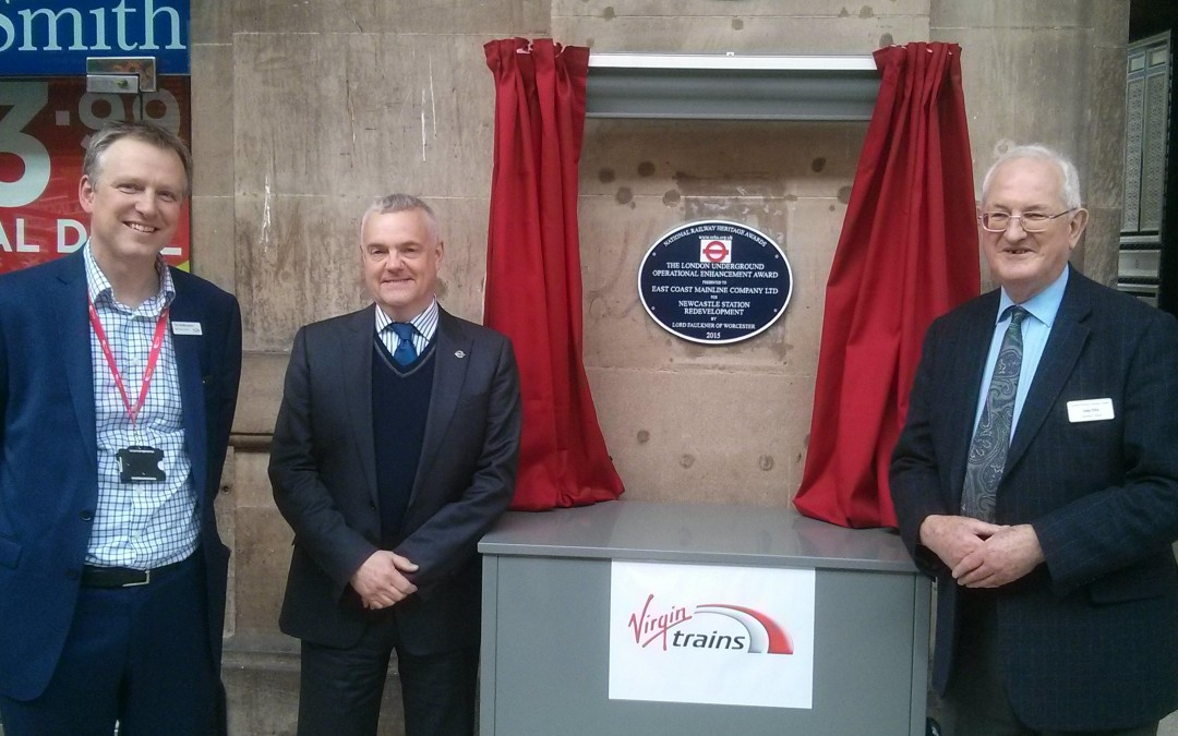 Improvements to Newcastle station rewarded