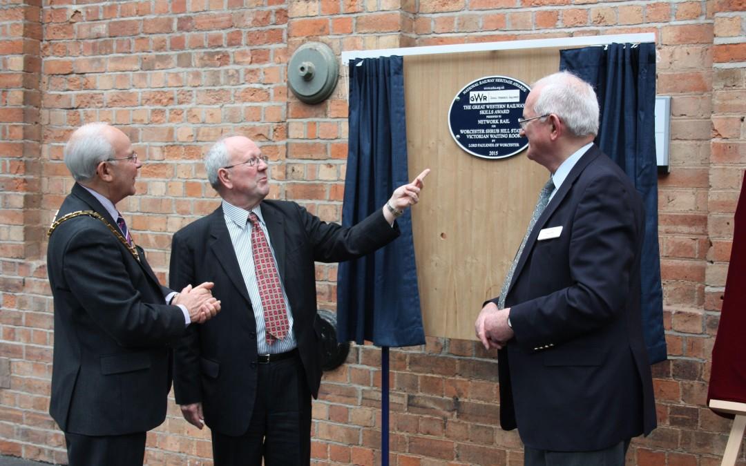 Worcester plaque unveiled