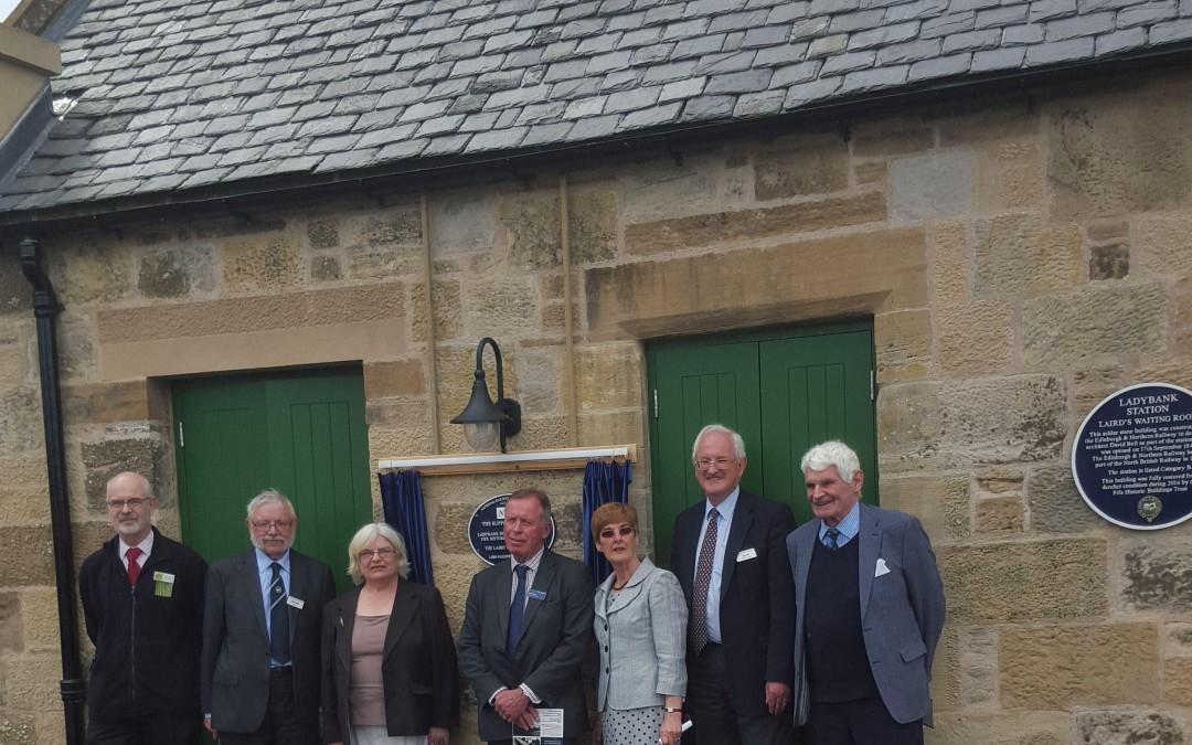 Ladybank plaque unveiled