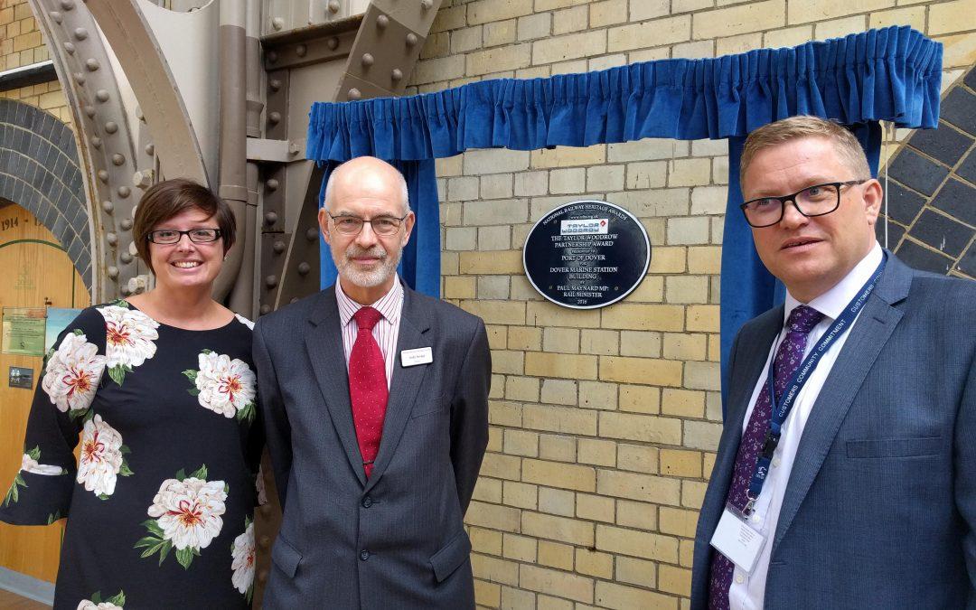 Dover Marine award unveiled
