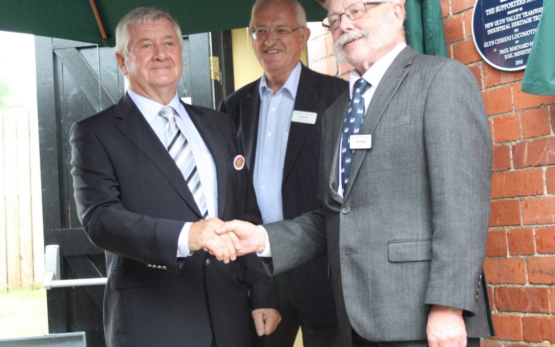 Glyn Valley Plaque Unveiled