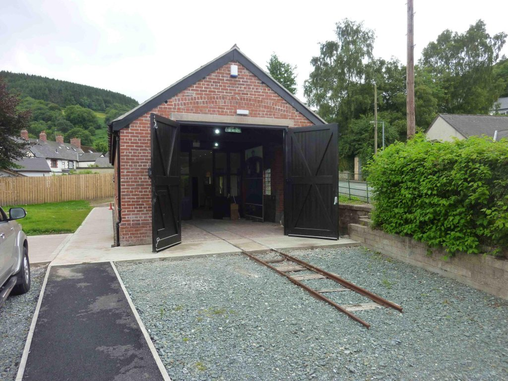 Glyn Valley shed