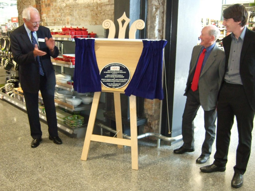 King's Cross plaque unveiled