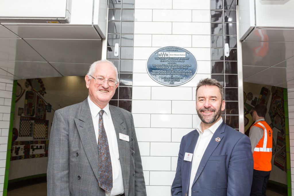 Tottenham Court Road plaque unveiled