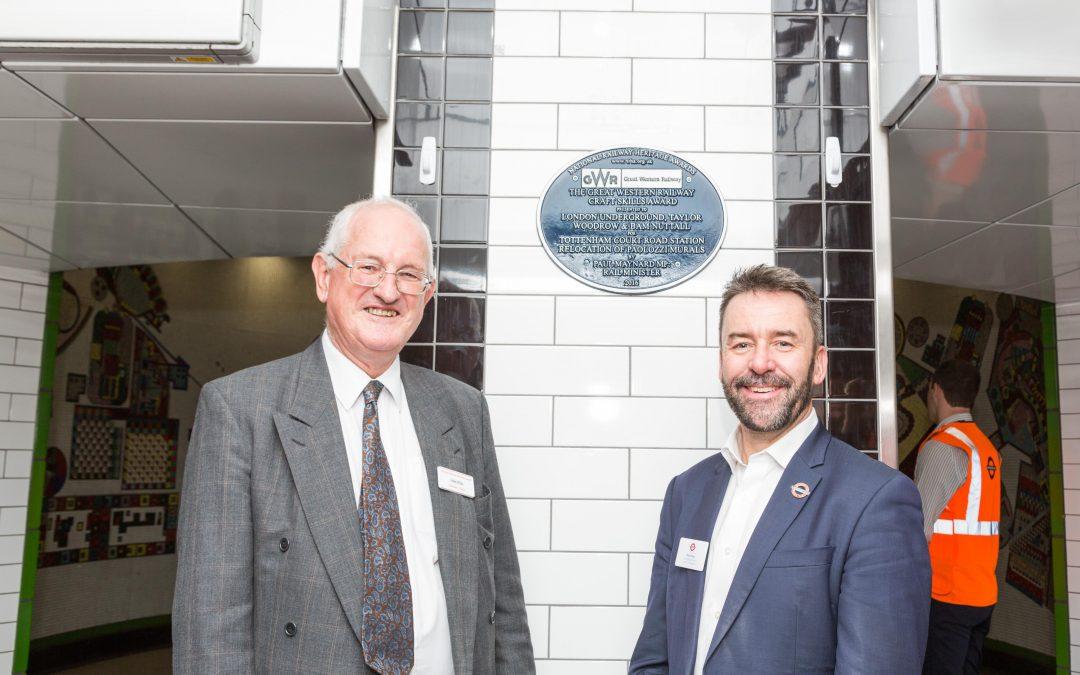Tottenham Court Road plaque unveiled