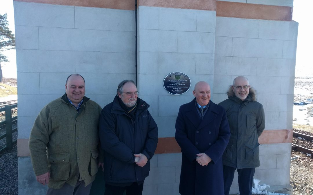 Currour plaque unveiled