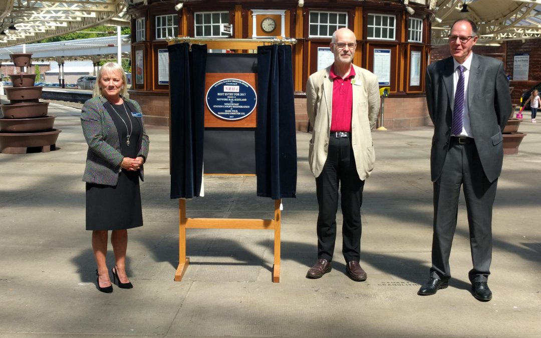 WEMYSS BAY PLAQUE UNVEILED