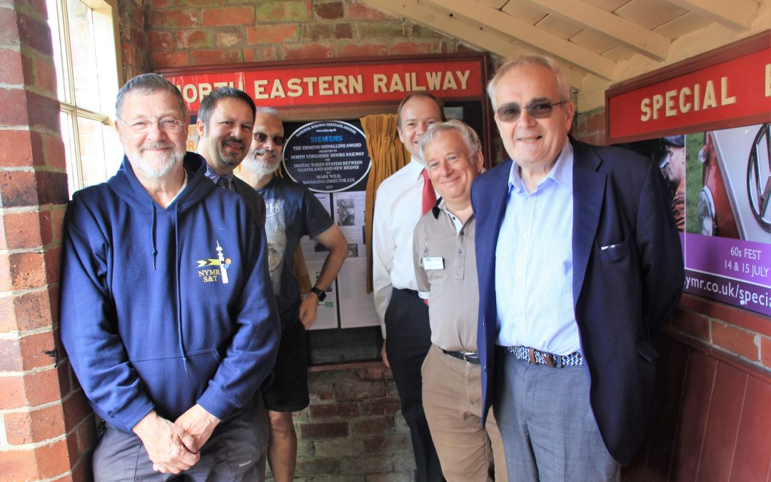 North Yorkshire Moors Railway signalling project rewarded