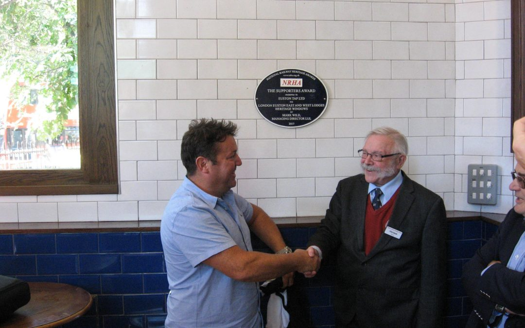 Euston plaque unveiled