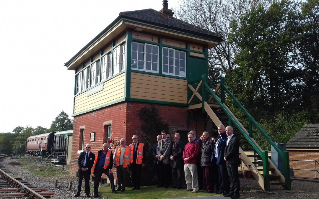 Horsted Keynes signalling rewarded