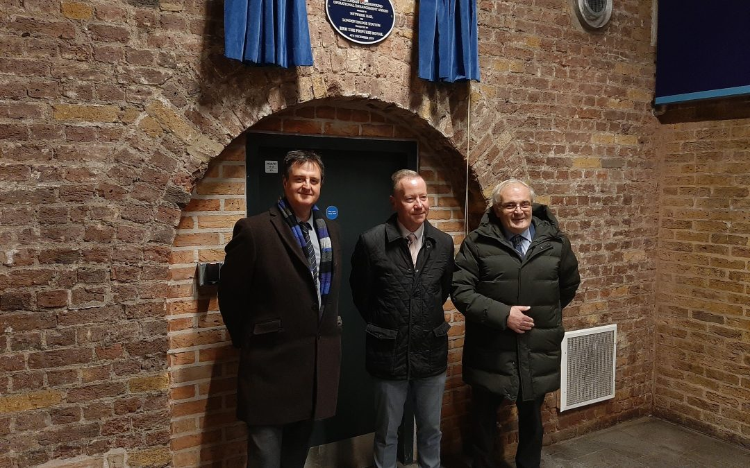 London Bridge plaque unveiled